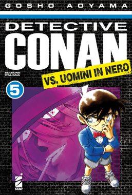 Copertina di Detective Conan Vs Uomini In Nero n.5