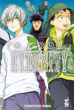 Copertina di To Your Eternity n.15