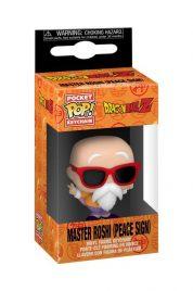 Dragon Ball Z Master Roshi (peace sign) Pocket Pop Keychain