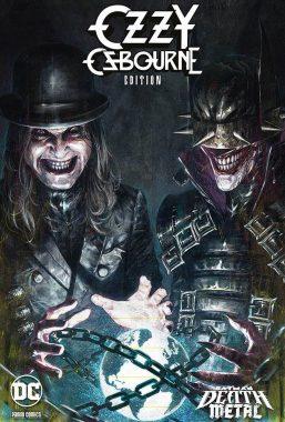 Copertina di Batman – Death Metal n.7 Variant Band