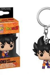 Dragon Ball Z Goku W/Kamehameha Pocket Pop Keychain