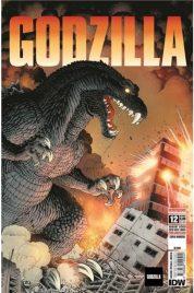 Godzilla n.12 Variant Gatefold