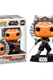 Star Wars Mandalorian Ahsoka W/Sabers Funko Pop 464